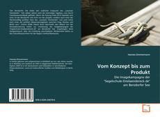 Buchcover von Vom Konzept bis zum Produkt