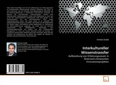 Couverture de Interkultureller Wissenstransfer
