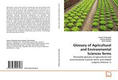 Buchcover von Glossary of Agricultural and Environmental Sciences Terms