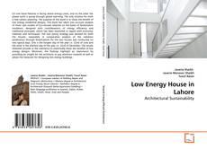 Portada del libro de Low Energy House in Lahore