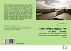 """Buchcover von CROP WATER ALLOCATION MODEL - """"CWAM"""""""