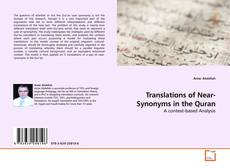 Buchcover von Translations of Near-Synonyms in the Quran