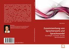 Capa do livro de Zusammenhang von Spracherwerb und Sprachwandel