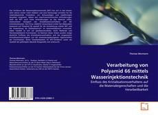 Copertina di Verarbeitung von Polyamid 66 mittels Wasserinjektionstechnik