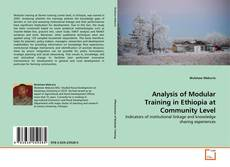 Bookcover of Analysis of  Modular Training in Ethiopia at Community Level