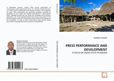 Borítókép a  PRESS PERFORMANCE AND DEVELOPMENT - hoz