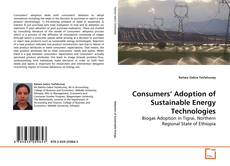 Buchcover von Consumers' Adoption of Sustainable Energy Technologies