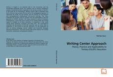 Bookcover of Writing Center Approach