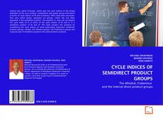 Buchcover von CYCLE INDICES OF SEMIDIRECT PRODUCT GROUPS