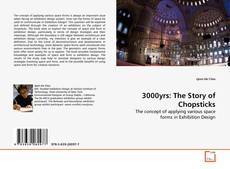 Bookcover of 3000yrs: The Story of Chopsticks