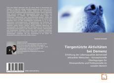 Borítókép a  Tiergestützte Aktivitäten bei Demenz - hoz