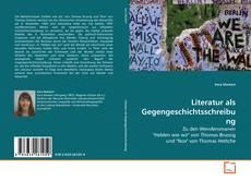 Literatur als Gegengeschichtsschreibung kitap kapağı