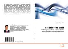 Bookcover of Resistance to blast