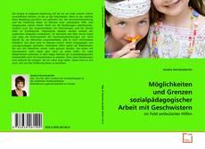 Buchcover von Möglichkeiten und Grenzen sozialpädagogischer Arbeit mit Geschwistern