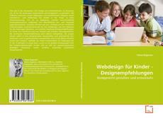 Buchcover von Webdesign für Kinder - Designempfehlungen