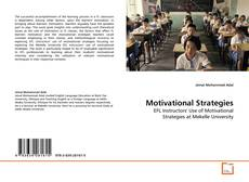 Bookcover of Motivational Strategies