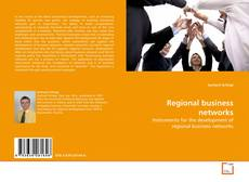 Bookcover of Regional business networks