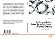 Buchcover von Nonlinear Adaptive Robust Control of Electro-hydraulic Systems