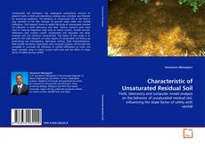 Bookcover of Characteristic of Unsaturated Residual Soil