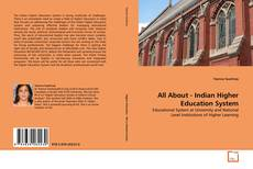 Copertina di All About - Indian Higher Education System