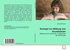 Buchcover von Konzept zur Bildung von Grundwissen