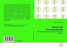 Buchcover von Räume der Kreativwirtschaft