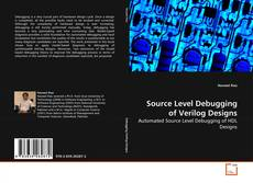Buchcover von Source Level Debugging of Verilog Designs