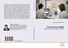 Bookcover of Community Health