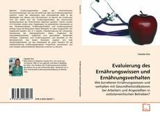 Capa do livro de Evaluierung des Ernährungswissen und Ernährungsverhalten