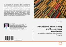 Copertina di Perspectives on Teaching and Researching Translation