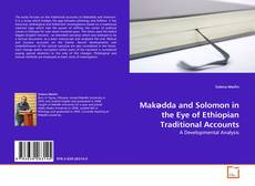 Couverture de Makədda and Solomon in the Eye of Ethiopian Traditional Accounts