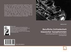 Capa do livro de Berufliche Zufriedenheit klassischer Saxophonisten
