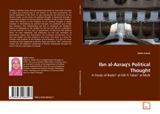 Bookcover of Ibn al-Azraq's Political Thought