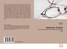 Buchcover von Nonlinear Studies