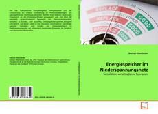 Copertina di Energiespeicher im Niederspannungsnetz