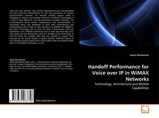 Buchcover von Handoff Performance for Voice over IP in WiMAX Networks