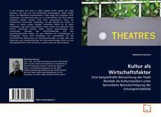 Buchcover von Kultur als Wirtschaftsfaktor