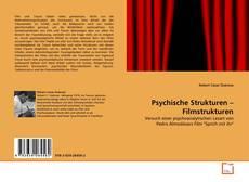 Psychische Strukturen – Filmstrukturen kitap kapağı