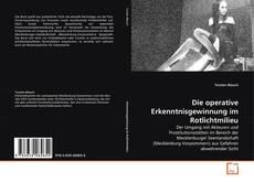 Buchcover von Die operative Erkenntnisgewinnung im Rotlichtmilieu