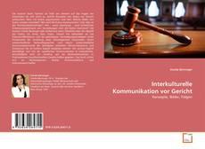 Capa do livro de Interkulturelle Kommunikation vor Gericht