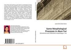 Some Morphological Processes in Akan-Twi kitap kapağı