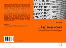 Bookcover of Open Source Software