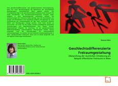 Buchcover von Geschlechtsdifferenzierte Freiraumgestaltung