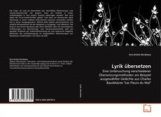 Buchcover von Lyrik übersetzen