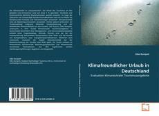 Klimafreundlicher Urlaub in Deutschland的封面