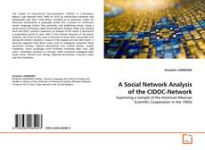 Copertina di A Social Network Analysis of the CIDOC-Network