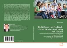 Buchcover von Die Wirkung von Feedback-Kultur für die Entwicklung von Schulen