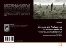 Couverture de Messung und Analyse von Todesursachendaten