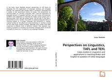 Bookcover of Perspectives on Linguistics, TAFL and TEFL