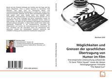 Capa do livro de Möglichkeiten und Grenzen der sprachlichen Übertragung von Humor im Film